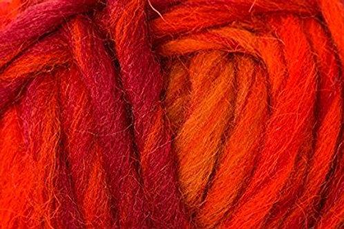 Filzwolle - Wash + Filz (Waschmaschine) -Rubin