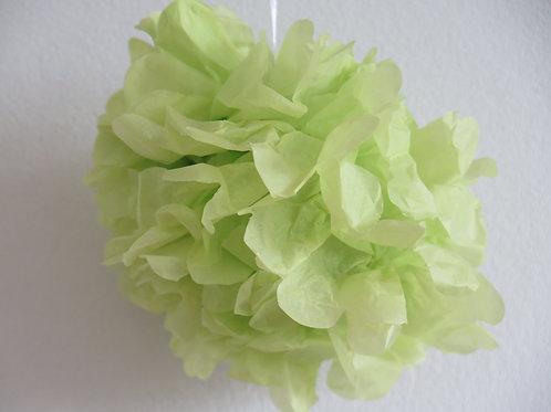 Pompom helles grün