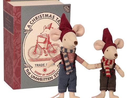 Weihnachtsmäuse im Buch