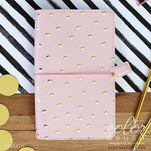 Travelers Notebook -WebsterPages - rose-gold