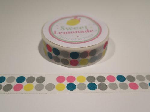 Masking Tape - Punkte Neon