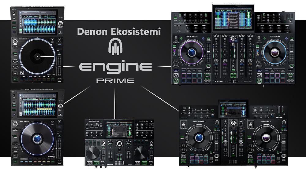 denon engine prime ekosistemi