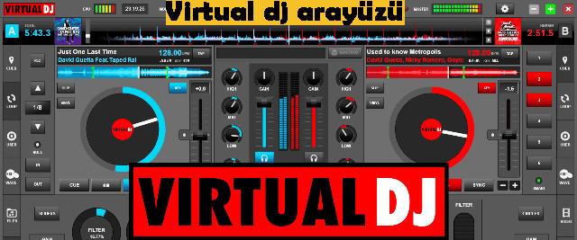 Virtual dj arayüzü