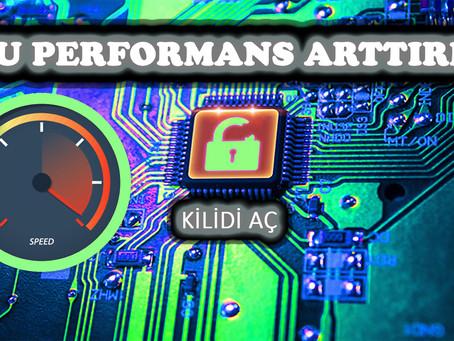 (CPU) İŞLEMCİ HIZLANDIRMA NASIL YAPILIR? BİLGİSAYAR HIZLANDIRMA I PC HIZLANDIRMA