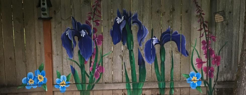 iris fence