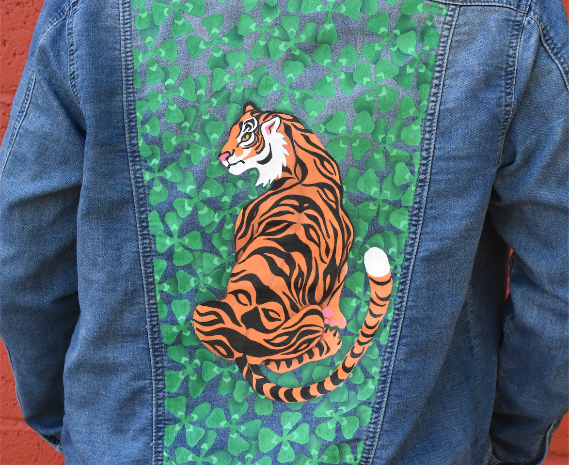 lucky tiger jacket