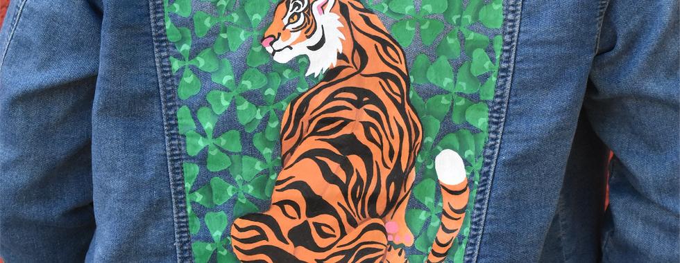 lucky tiger jacket