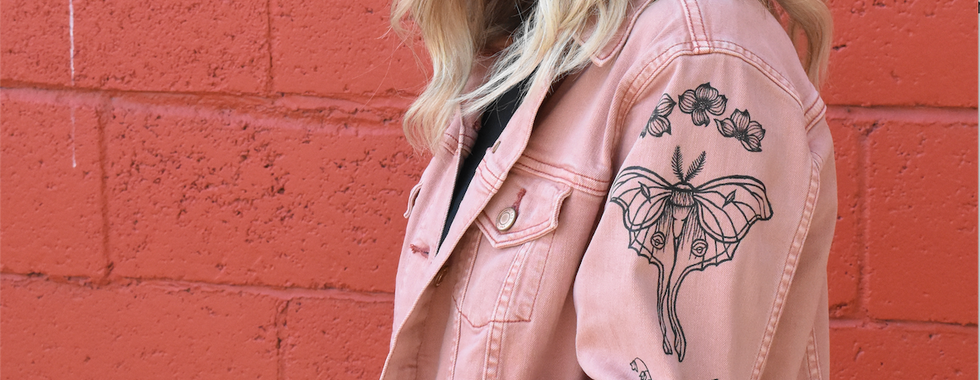 pink moths l
