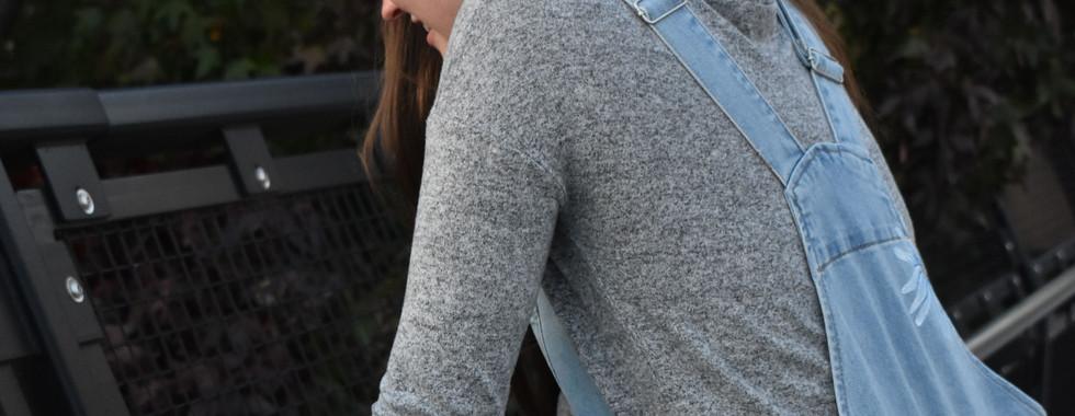 daisy overalls ash