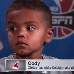 Merry Christmas, Cody!