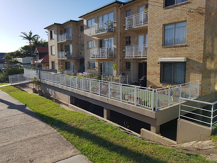 Aluminum Balustrades to BCA requirements