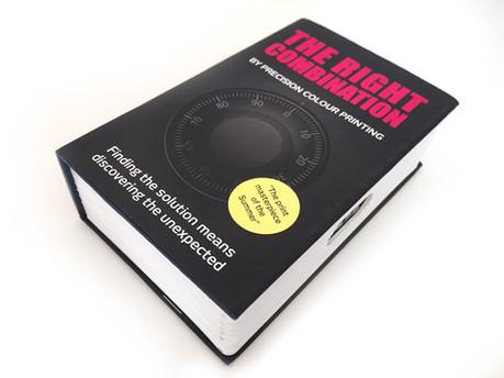 "Custom Concept ""Right Combination"" Book Safe for Precision Colour Printing"