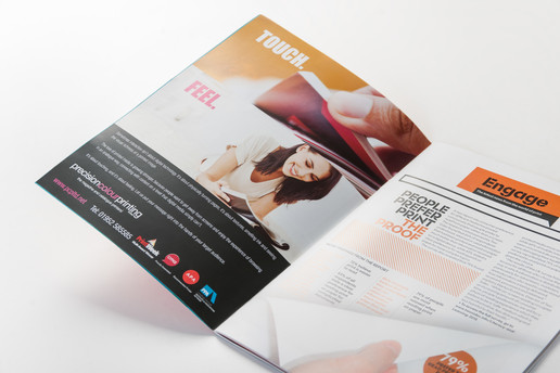 Press Advert for Precision Colour Printing