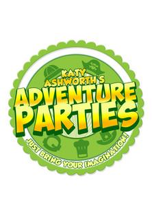 Branding for Katy's Adventure Parties