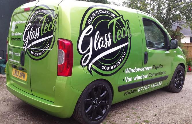 GlassTech Branding