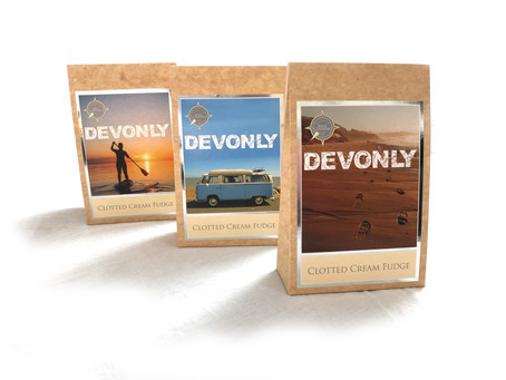 DEVONLY Packaging Design for  The Cream of the West Country