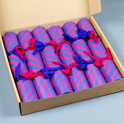 Box of Zebra Crackers