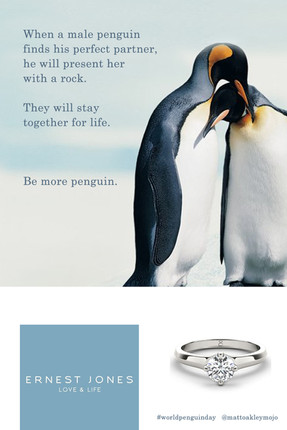 Ad Inspired By World Penguin Day