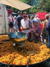 Our famous paella at Bembridge Street Fair