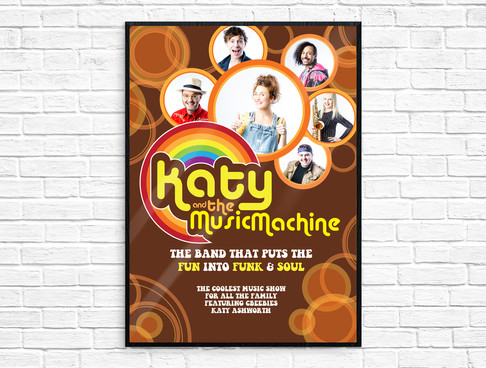 Poster for Katy & The Music Machine