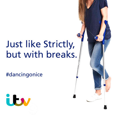 Advertise Dancing On Ice
