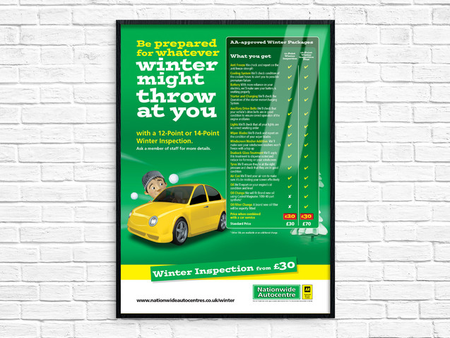 Poster Design for Nationwide Autocentres