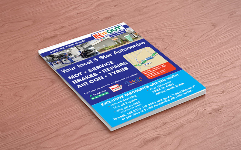 Promotional Leaflet Design
