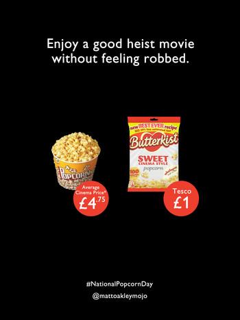 Advertise Popcorn