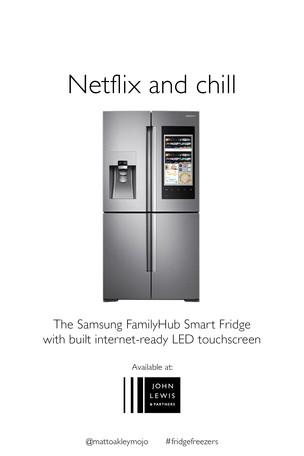 Advertise Fridge Freezers