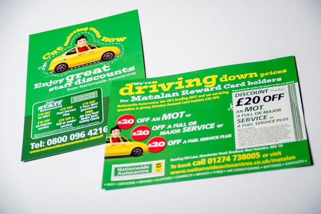 Leaflet Design for Nationwide Autocentres
