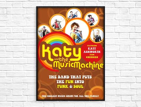 Katy & The Music Machine branding