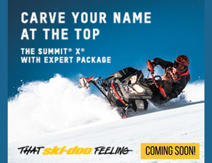 2022 Ski-Doo Summit X Expert - CARVE YOUR NAME AT THE TOP