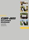 Can-Am Off Road ATV Catalog-Outlander Renega