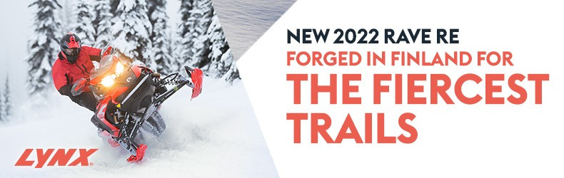 2022 Lynx Rave RE - FORGED IN FINLAND FOR THE FIERCEST TRAILS