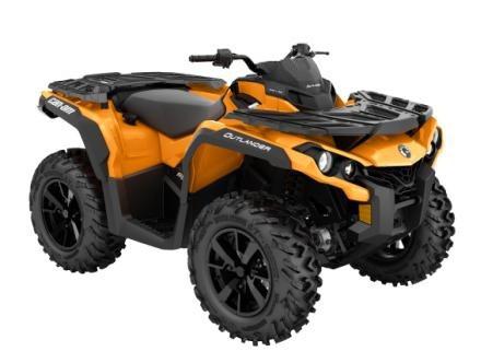 2019 Outlander DPS 650 Orange Crush_3-4