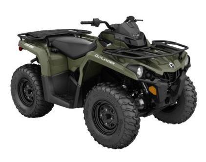 2019 Outlander 450 Green EFI