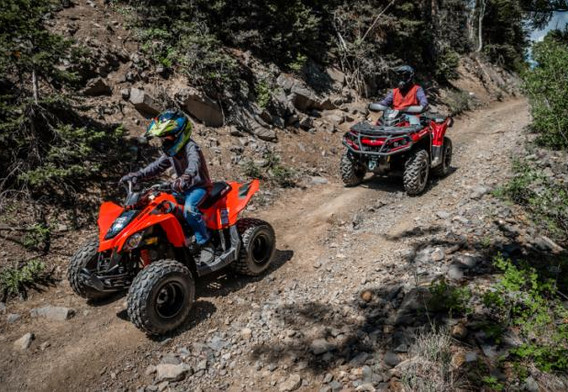 DS90 - Outlander XT 650 - Father and son