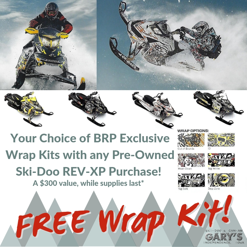 Free BRP Wrap Kit with Ski-Doo