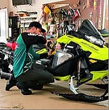 Experienced service with over 50 years each working on powersports Ski-Doo Can-Am BRP repairs warranty work