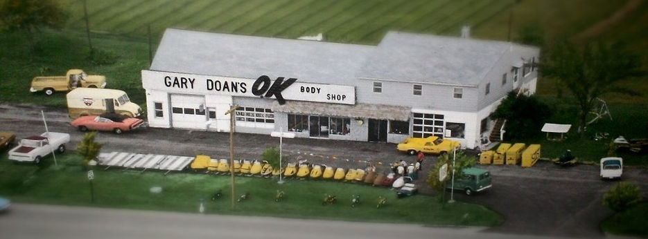Retro Shop Gary Doan's OK Body Shop vintage photo