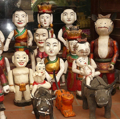 Vietnamese folk figurines
