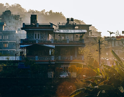 Nepalese buildings