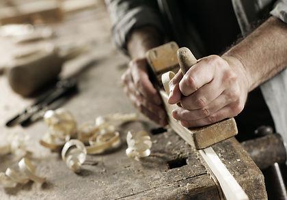 Close up of craftsman