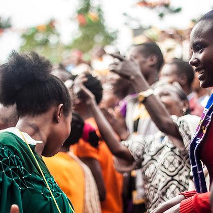 Celebrating in Ethiopia