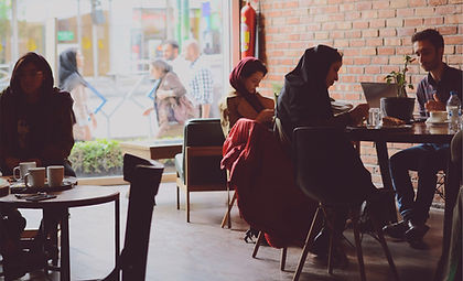 Café in Iran