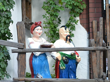 Ukrainian folk figurines