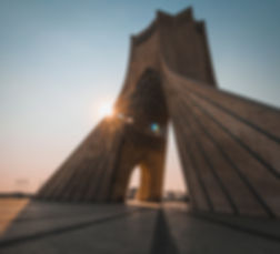 Azadi Tower in Iran