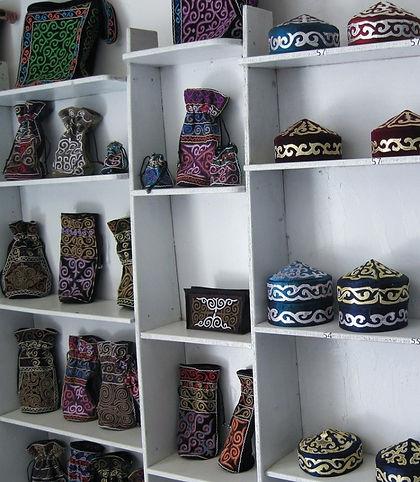 Hats from Kazakhstan