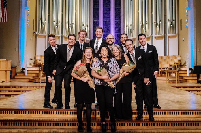 Cantus premiering my piece, September 2019