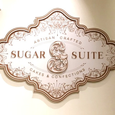 Sugar Suite Interior Signage